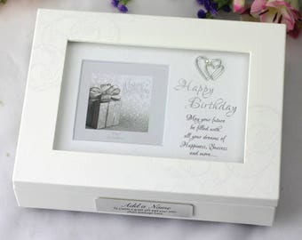 Personalised Birthday Music Box - Any Age
