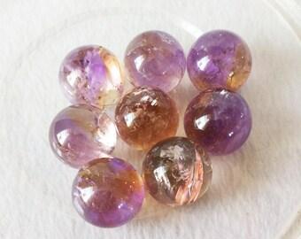 Rare Nature Ametrine Sphere/Ametrine Crystal Ball/Quartz Ball/gift for her(Size:20mm,30mm,40mm,50mm,60mm,70mm,80mm,90mm,Custom Size)