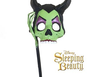 Maleficent Halloween Masquerade Mask Adult Sleeping Beauty Classic Disney