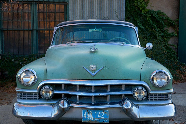 1950s Cadillac Vintage Cadillac 50s Vintage Car Print Clic