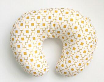 Nursing Pillow Cover Gold Moroccan. Nursing Pillow. Nursing Pillow Cover. Minky Nursing Pillow Cover. Gold Nursing Pillow Cover.