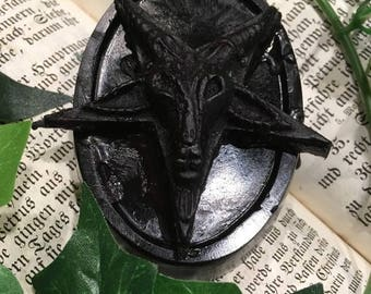 Baphomet Soap creepy handmade Soap
