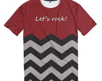 Twin Peaks 3D T-shirt, Men's Women's All Sizes