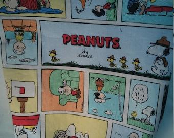 Select-A-Size Peanuts Comic Strip Project Bag