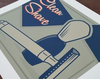 Clean Shave - Numbered Archival Print