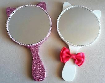 Cat Hand Mirrors