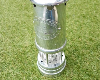 English large heavy miners lamp