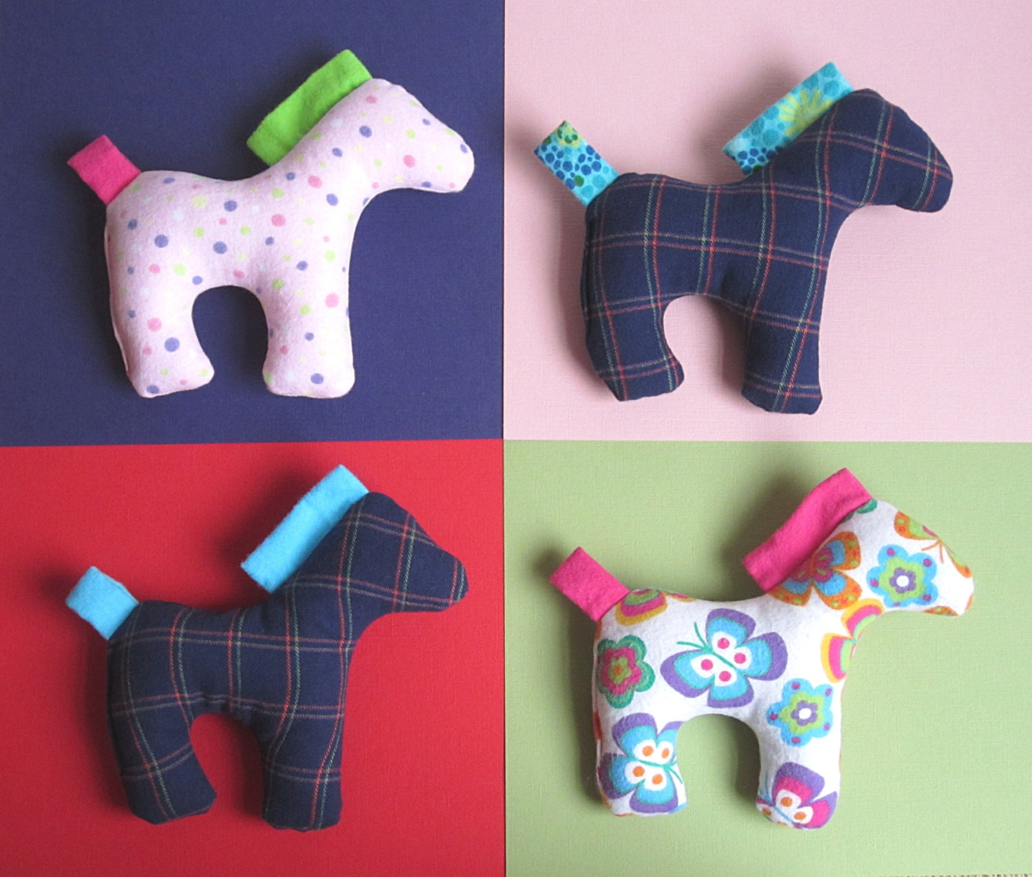 Dixie The Horse Pattern Pdf Sewing Pattern For Stuffed Horse