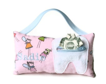 Boy's & Girl's Personalized Tooth Fairy Pillows