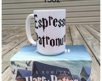 Espresso Patronum - Harry Potter coffee mug
