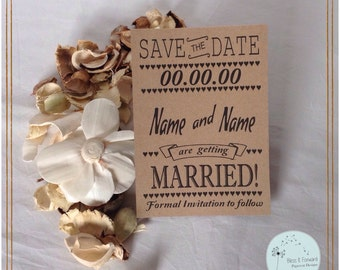 Save the Date - pack of 20