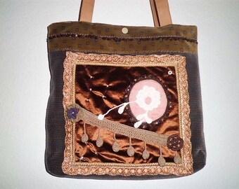 Handbag, shoulder bag!