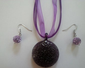 Purple Glass Jewelry