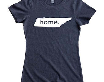 Homeland Tees Tennessee Home State Women's T-Shirt