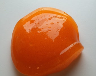 Orange Crush Clear Slushie Slime