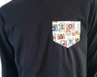 Cameras pocket shirt