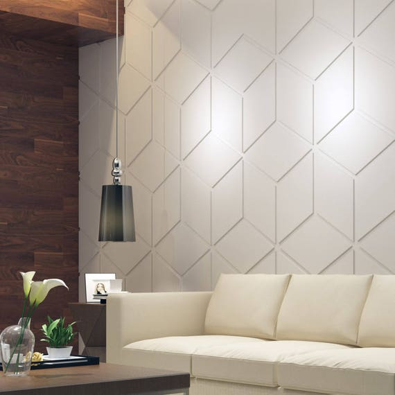 Bas relief cubes 3d wall panels decorative wall panels