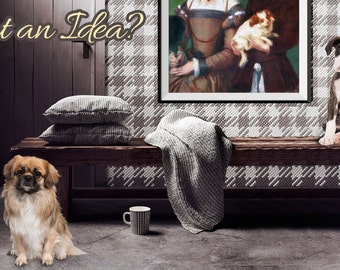 CUSTOM PET PORTRAIT 2 Subjects - Cat Portrait - Dog Portrait - What You Want Pet Portrait