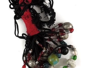 10 Tibetan Necklaces Mixed 118405