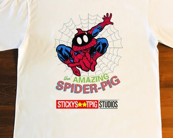 THE AMAZING SPIDERPIG
