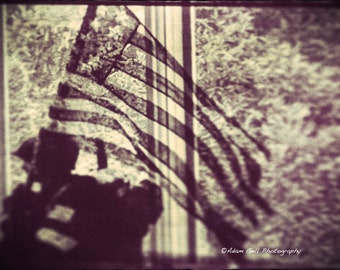 Liberation Photograph,freedom Photo,WW2,Veterans,Abstract,American flag, Memorial,Wall Art, Wall Decor