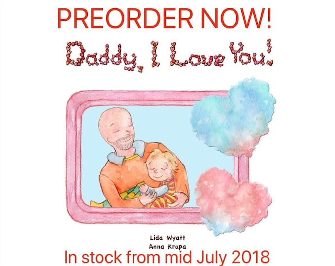 Daddy, I Love You! - Daddy - bald/light skin & Child - light hair/light skin