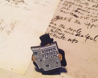Jack the Ripper Enamel Pin