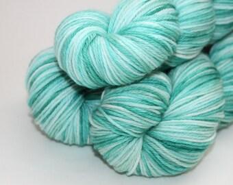 Sale | Hand Dyed / Painted Yarn | Superwash Merino / Nylon | Whitecap | Sport Weight | 274yds / 100g