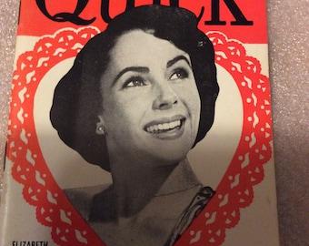 2/13/1950 Quick Magazine Elizabeth Taylor