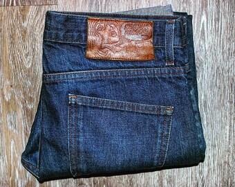 Naked & Famous Selvedge Denim • Japanese Denim • Indigo • Mens Jeans