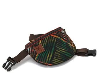Fanny pack, hip bag, waist bag Colorful stripes