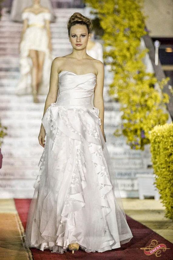 Sommer Brautkleid rustikale Brautkleid Brautkleid Bio