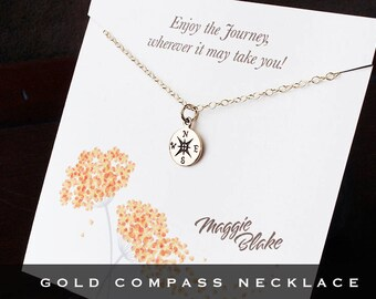 Retirement gifts, retirement gift for her, journey necklace, retirement, graduation gift for women graduation her, woman retirement, compass