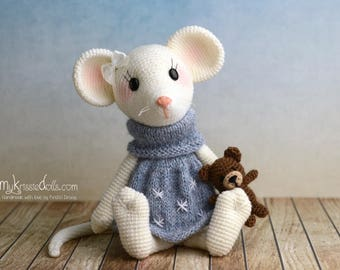 Crochet pattern - Little Mouse Milla