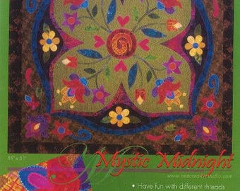 Mystic Midnight Quilt Pattern by Bee Creative Studio