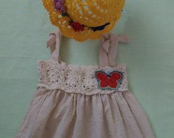 Dress, hat, girl