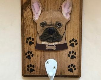 French Bulldog Dog Leash Hanger