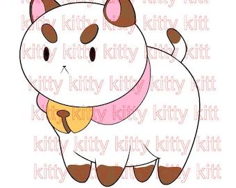 Bee And Puppycat Character Design Frederator file svg studio3 pdf jpeg cut file print and cut anime manga book animal magical girl anime