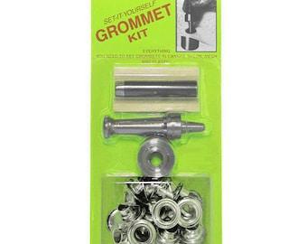 Grommet Setting Mallet Kit - Size 0 - Corset Making Supplies