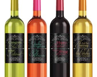 Retirement Gifts - Custom Wine Label - Personalized Wine Label - Wine Bottle Label - Retirement - Retirement Party - Retirement Decorations