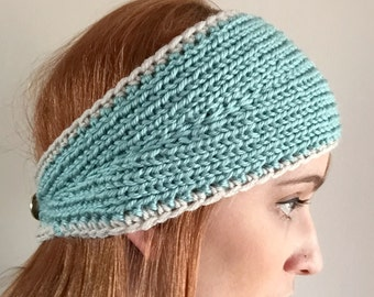 Teal Knit Headband