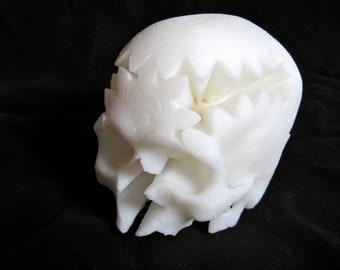 Skull Gift 3D Printed Rotating Skull Gear