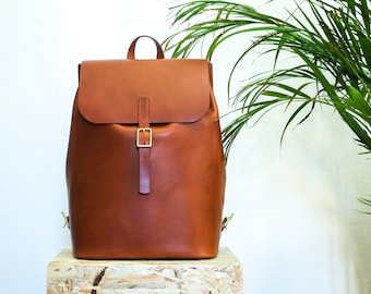 Leather backpack⎪Backpack⎪Leather rucksack⎪Handmade backpack⎪Rucksack⎪Handmade rucksack