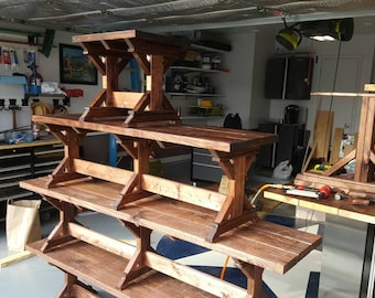 Handmade Solid Wood Furniture Built With Budget By