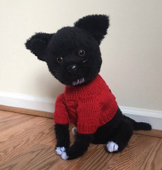 Patrón de ganchillo de perro Chihuahua PDF gratis ganchillo