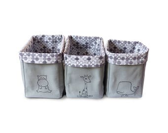 set of 3 baskets to order baby