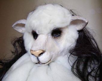 Masquerade mask Sheep mask Carnival mask Animal mask Halloween mask Face mask 3D mask Adult mask