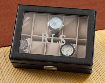 Mens Watch Box Personalized