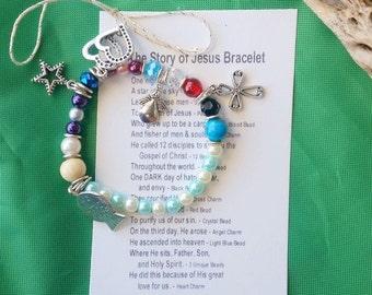 Story of  Jesus Bracelet