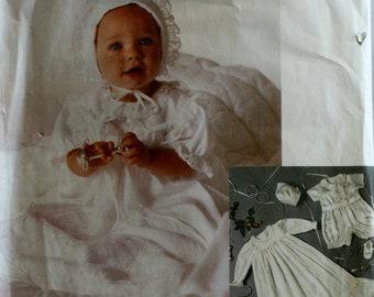 Infants Baptismal Sewing Pattern - Infants Christening Sewing Pattern - McCalls 2892 - New - Uncut - Size Newborn -  Small - Medium